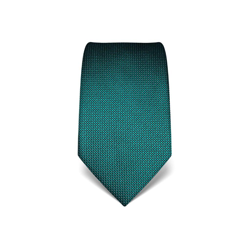 Elegantní kravata Vincenzo Boretti 21920 - smaragd, jemná struktura