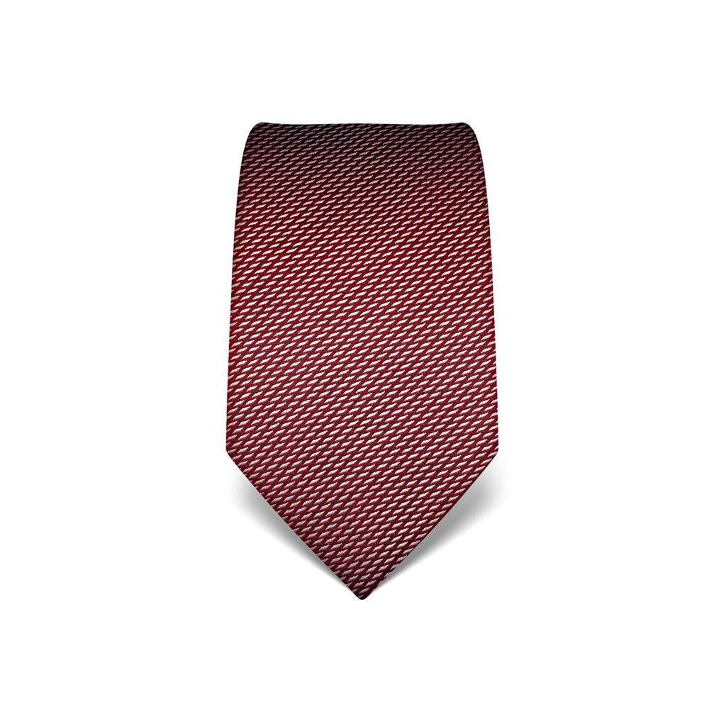 Elegantní vínová kravata Vincenzo Boretti 21982
