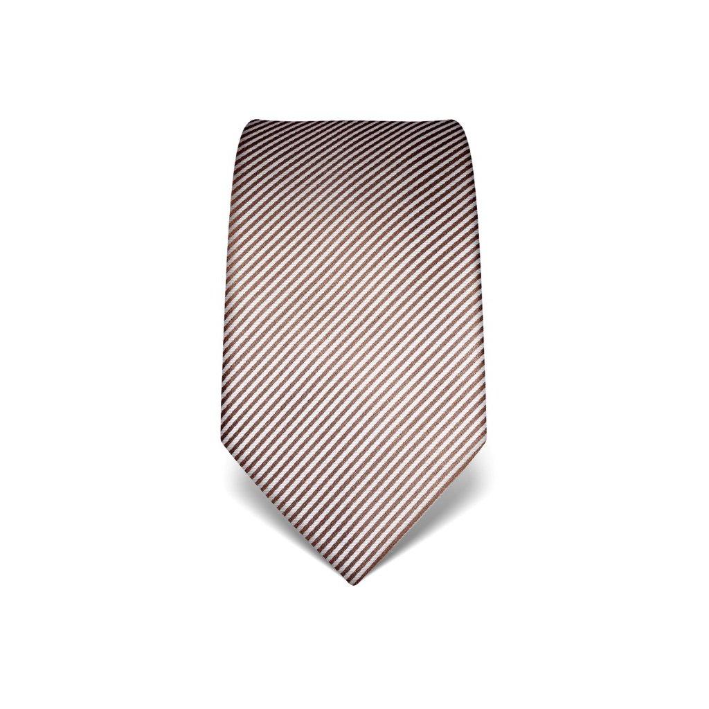 Manažerská kravata Vincenzo Boretti 21941 - hnědá