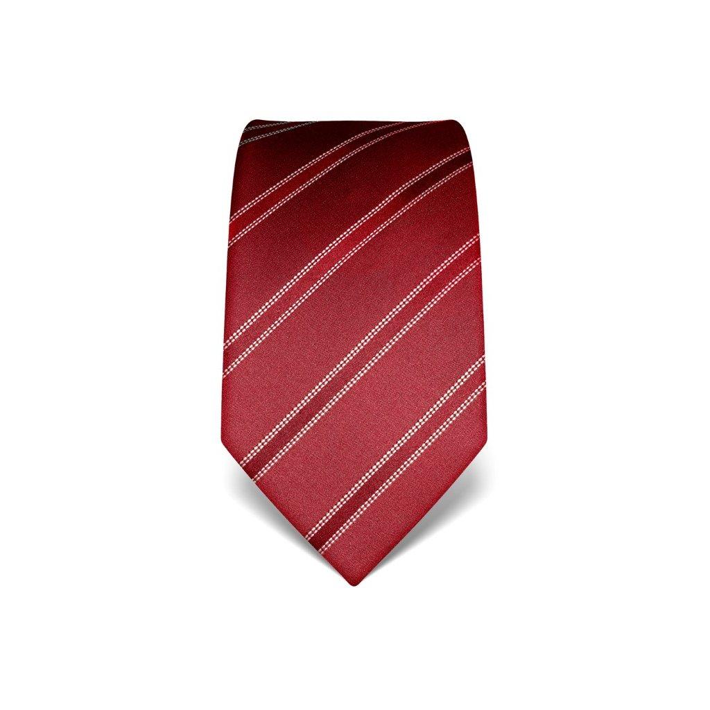 Elegantní kravata Vincenzo Boretti 21947 - vínová