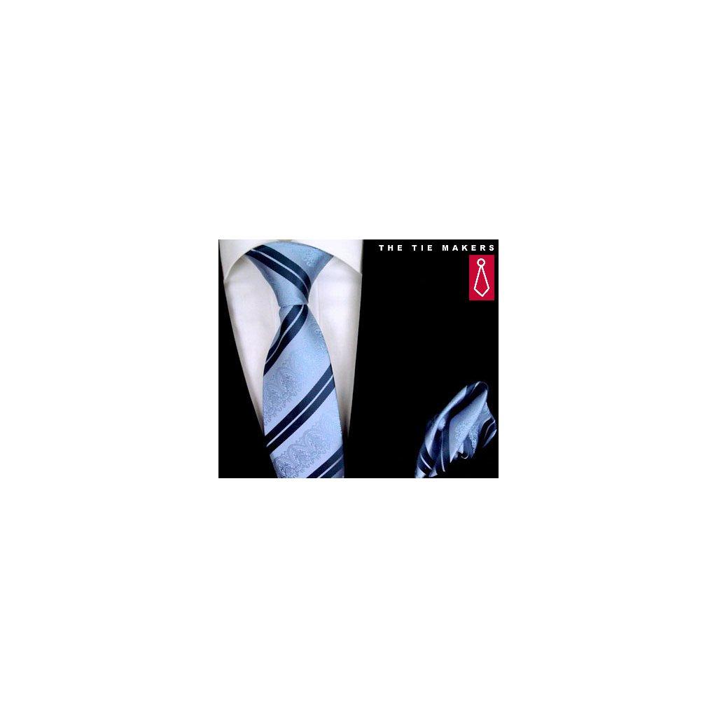 Beytnur 199-5 společenská kravata s kapesníčkem