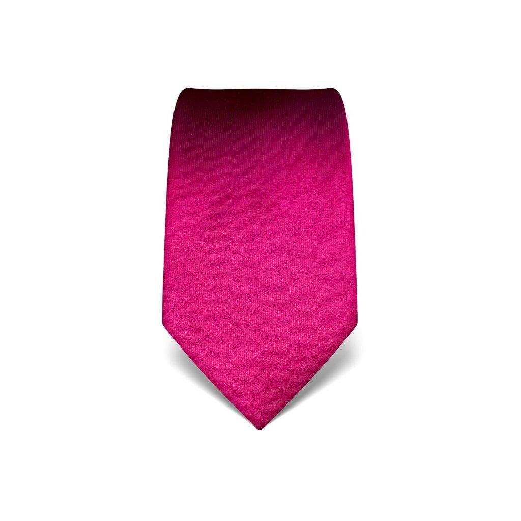 Svatební fuchsiová kravata Vincenzo Boretti 21926