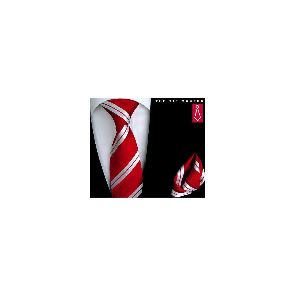 Beytnur 199-4 společenská kravata s kapesníčkem