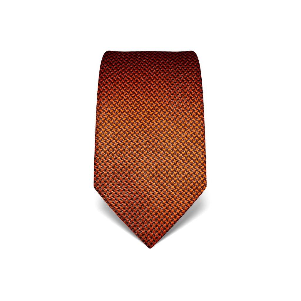 Zajímavá hedvábná kravata, krásný vánoční dárek