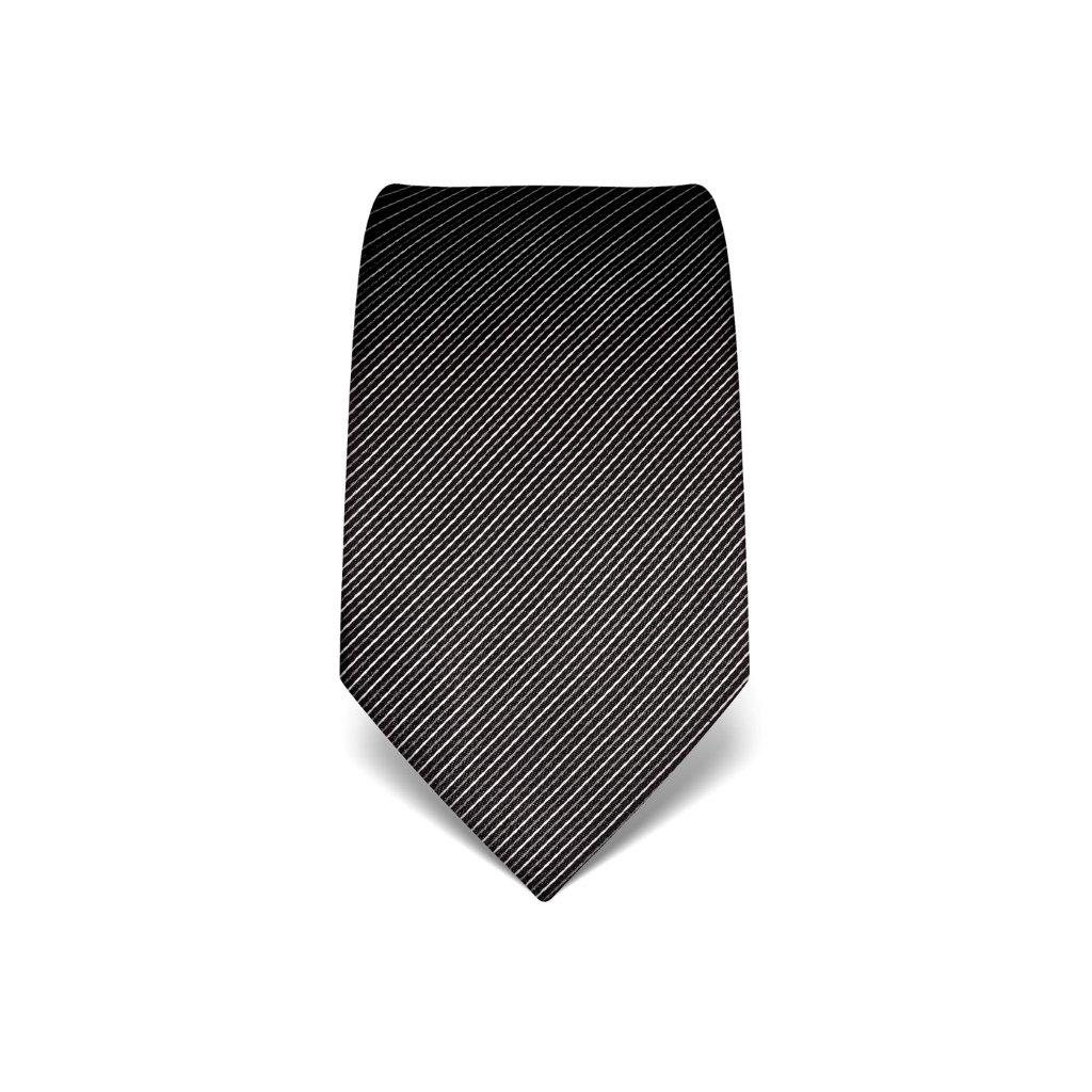 Manažerská kravata Vincenzo Boretti 21932 - černá