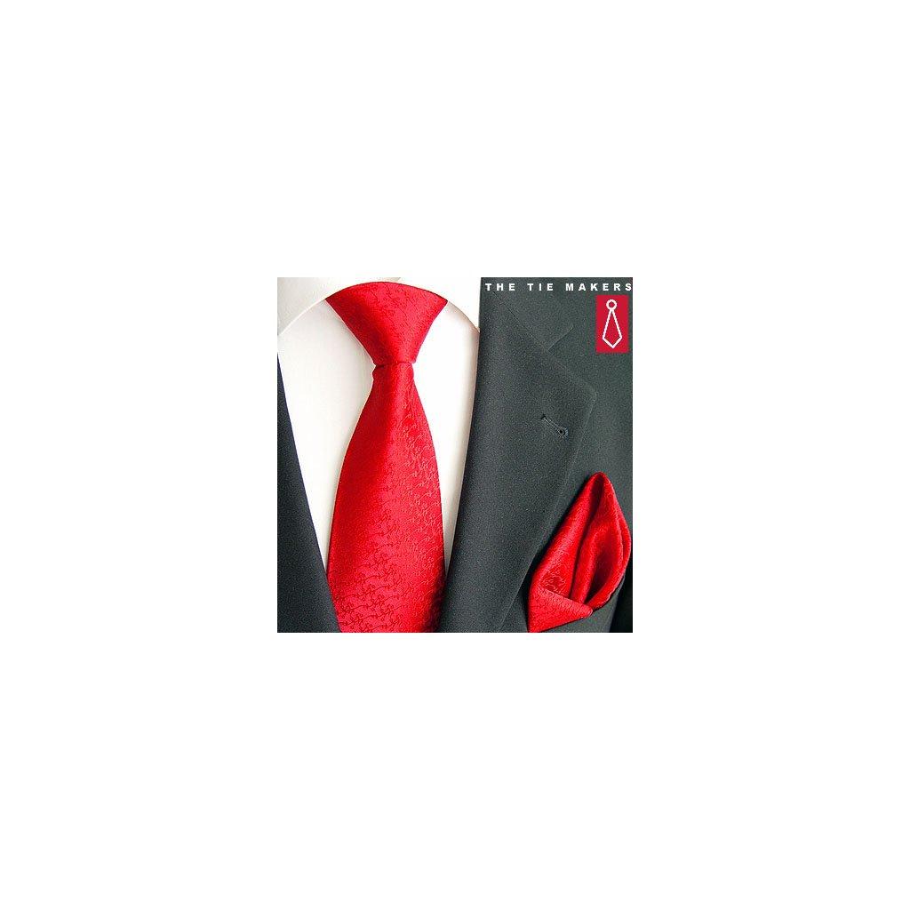 Beytnur 214-1 společenská kravata s kapesníčkem