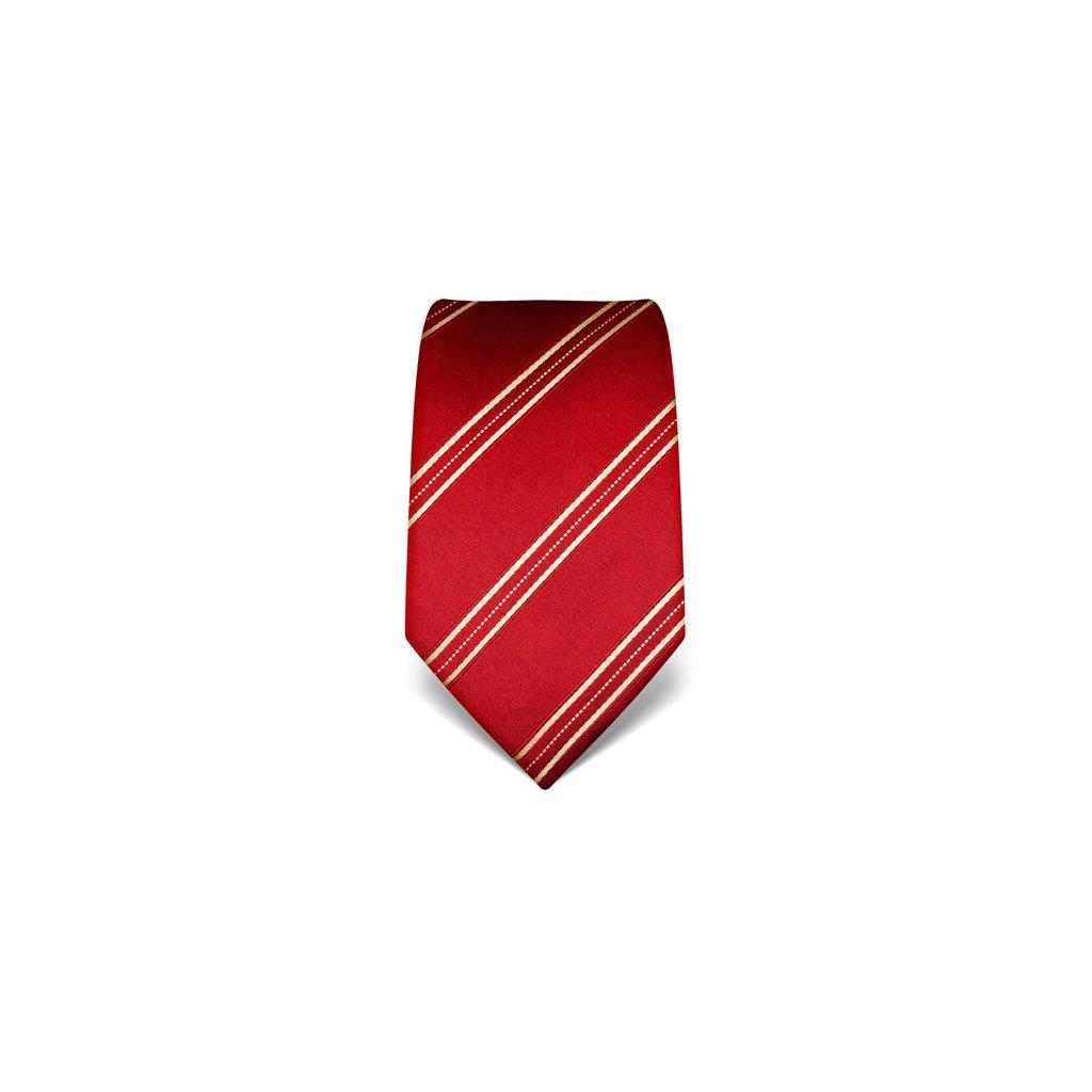 Vínová kravata Vincenzo Boretti 21943 - jemné prošití