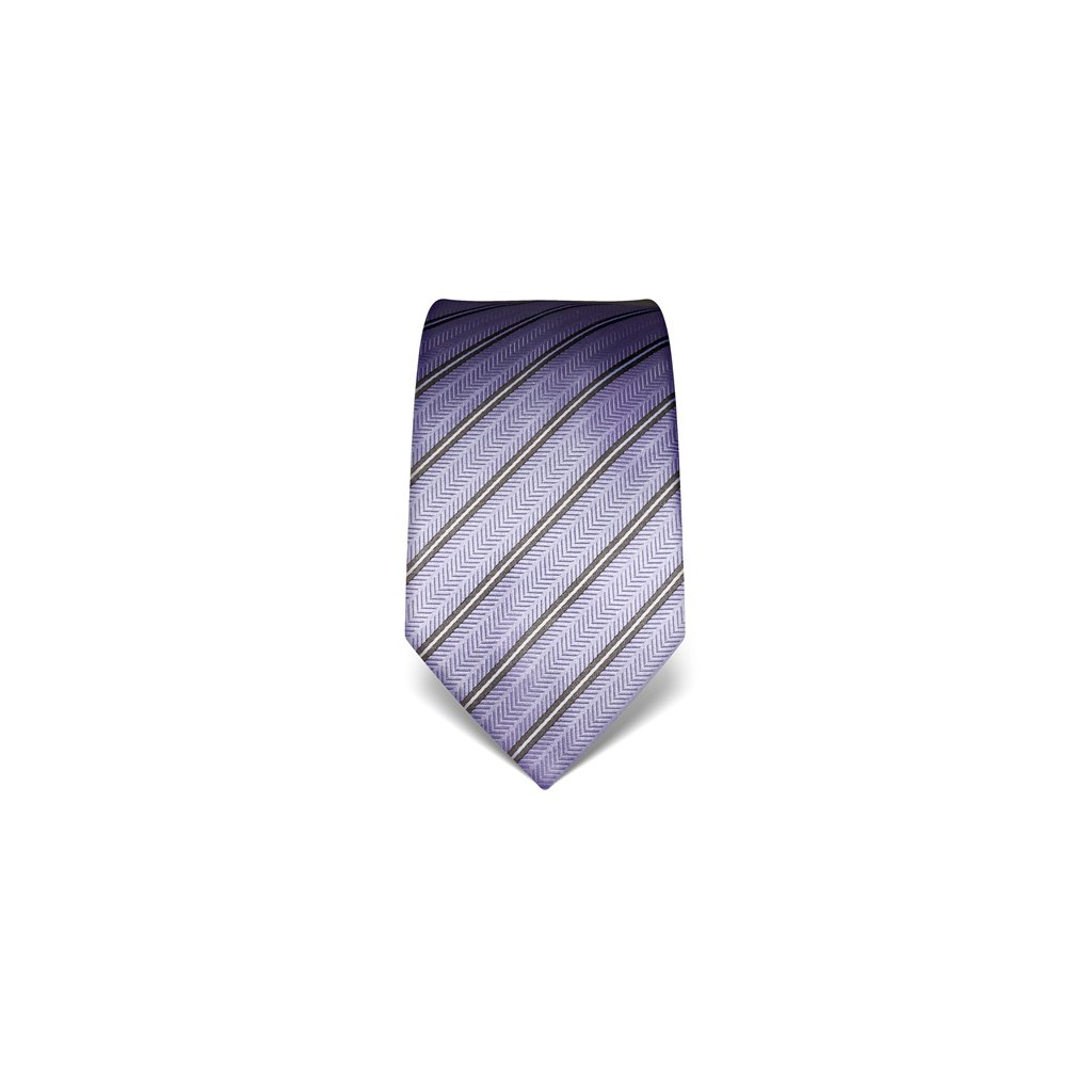 Strukturovaná kravata Vincenzo Boretti 21942 - fialová