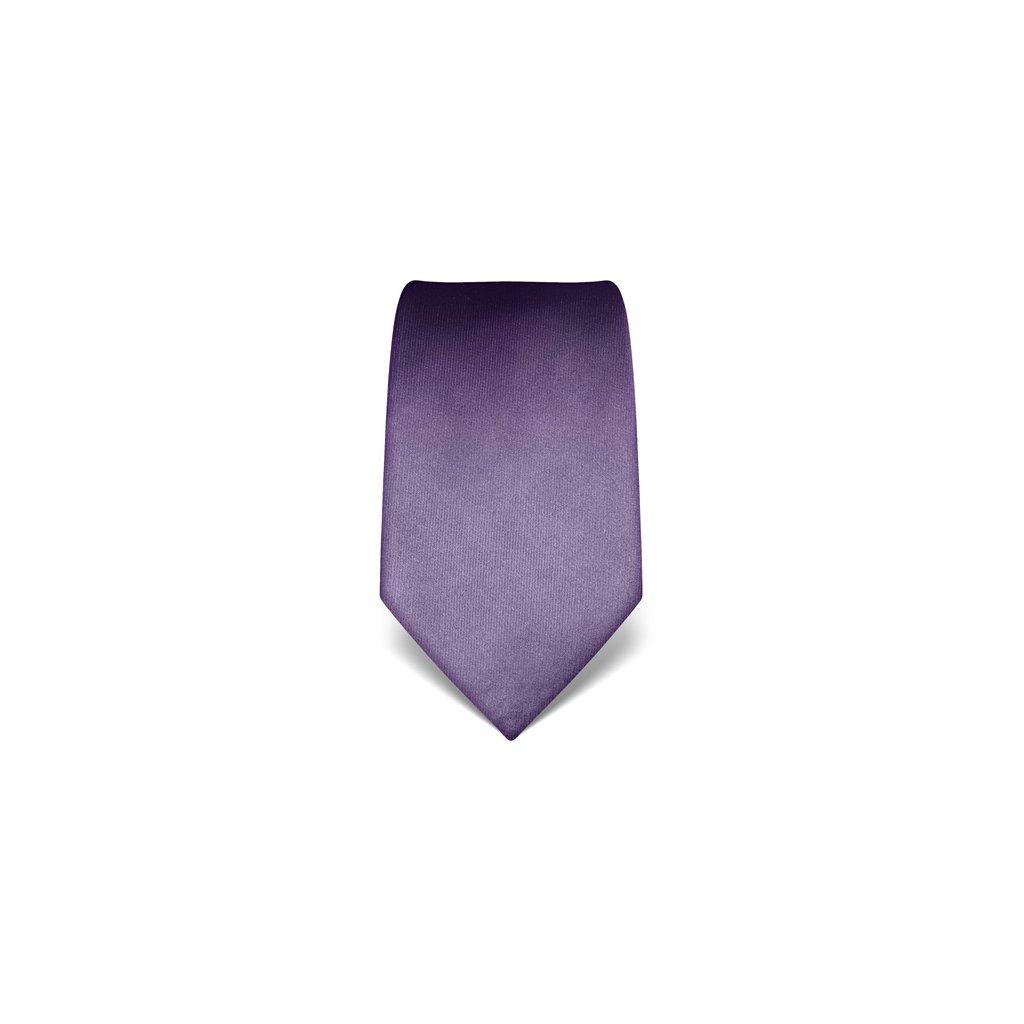 Luxusní fialová kravata Vincenzo Boretti 21978