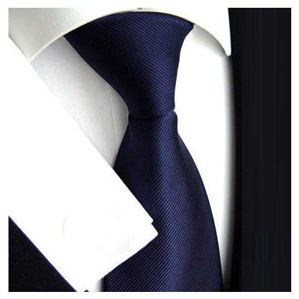 Luxusní tmavě modrá kravata Tom Harrison