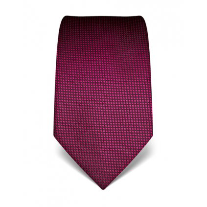 Fuchsiová kravata Vincenzo Boretti 21986 - struktura čtvereček