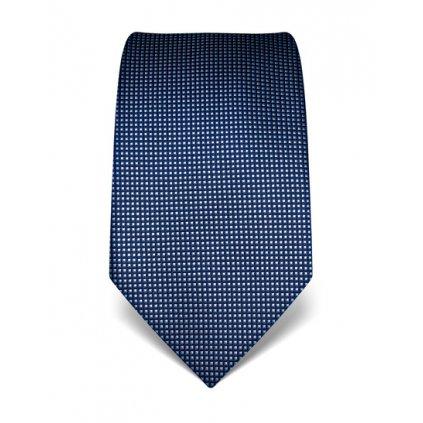 Kostičkovaná kravata Vincenzo Boretti 21933 - modrá