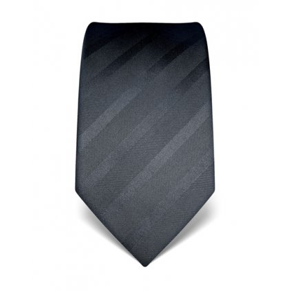Antracitová kravata Vincenzo Boretti 21929