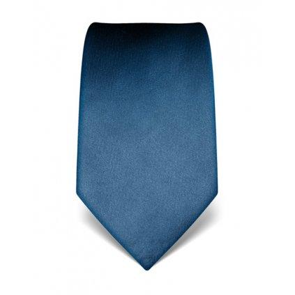 Vincenzo Boretti 21978 modrá luxusní kravata