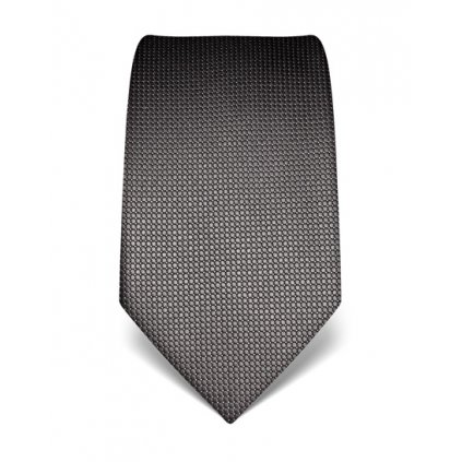 Šedá manažerská kravata Vincenzo Boretti 21920