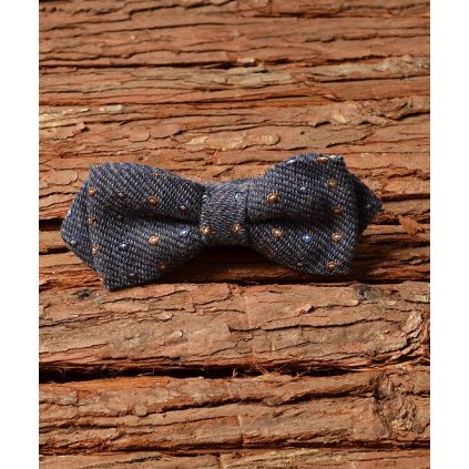 Elegantní pánský motýlek Gagliardi - modrošesý