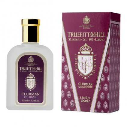 Clubman Cologne 100ml. Truefitt & Hill