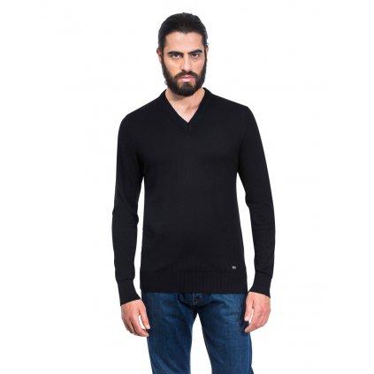 Pánský svetr Vincenzo Boretti - černý