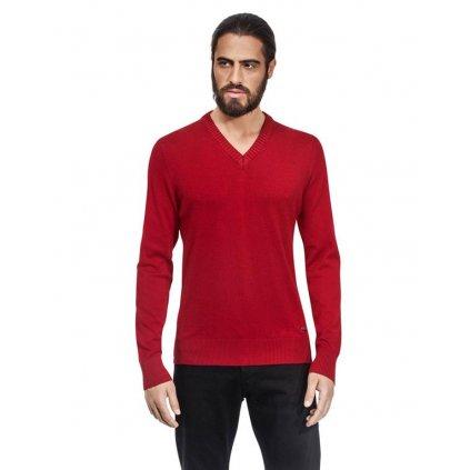 Pánský svetr Vincenzo Boretti - červený