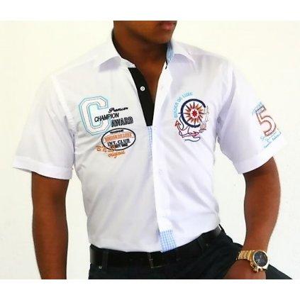 Pánská košile s krátkým rukávem Binder 819-06