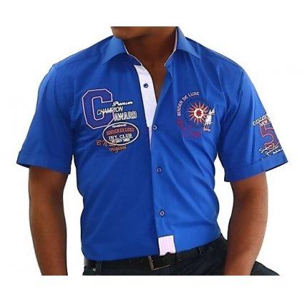 Pánská košile s krátkým rukávem Binder 819-06-41/42(L)