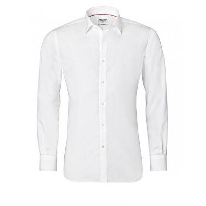 Bílá košile Vincenzo Boretti, dual manžety, SF678