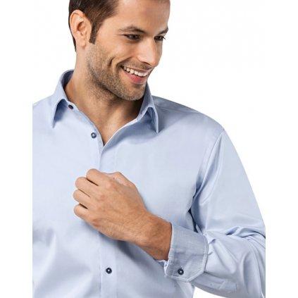 Ledově modrá košile Vincenzo Boretti