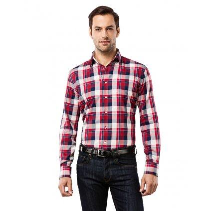 Pánská kostičkovaná košile