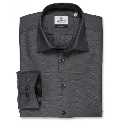 Antracitová košile Lerros Premium Line