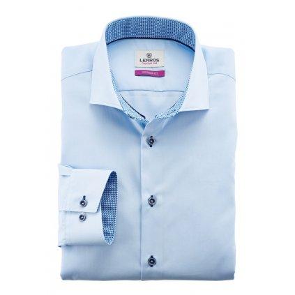 Světle modrá košile Lerros Premium Line