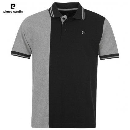 Černošedé pánské polo tričko pierre cardin s límečkem -39/40(M)