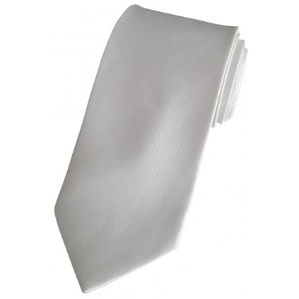 Bílá svatební kravata 76-1