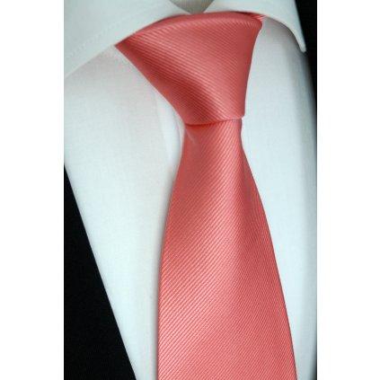 76 4 lososová kravata