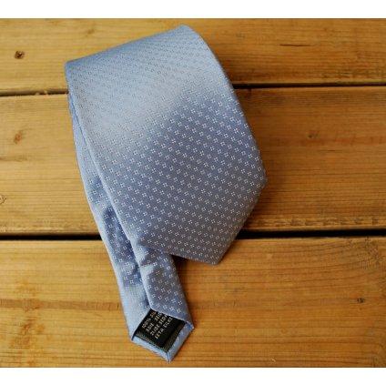 Bugatti značková kravata - světle modrá
