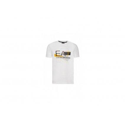 ARMANI tričko s krátkým rukávem bílé