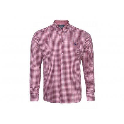 Ralph Lauren pánská košile červeno-bílá