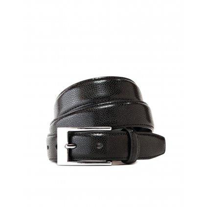 Vincenzo Boretti luxusní kožený pásek hadí černý