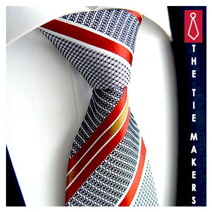 Luxusní antracitová kravata Beytnur 210-2