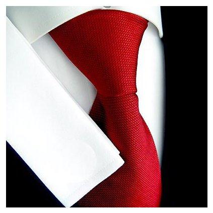 Luxusní černevá kravata Tom Harrison