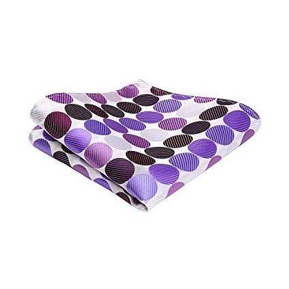kapesníček fialové puntíky