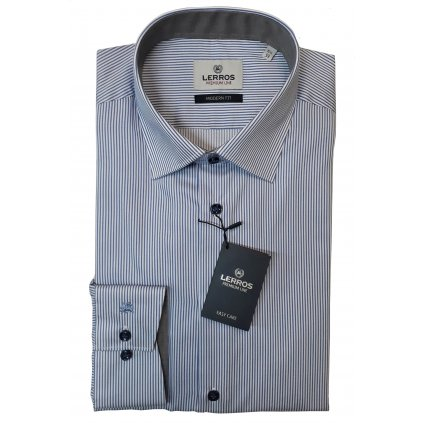Bílá košile Lerros Premium s prouzkem