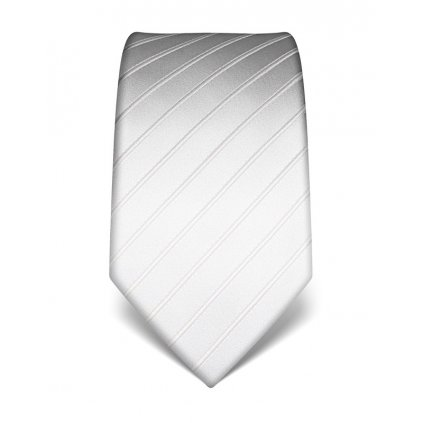 Luxusní bílá kravata Vincenzo Boretti 21913