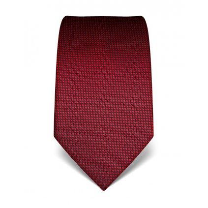 červená kostička kravata