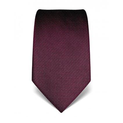 Elegantní kravata Vincenzo Boretti 21972 - lilek, jemná struktura