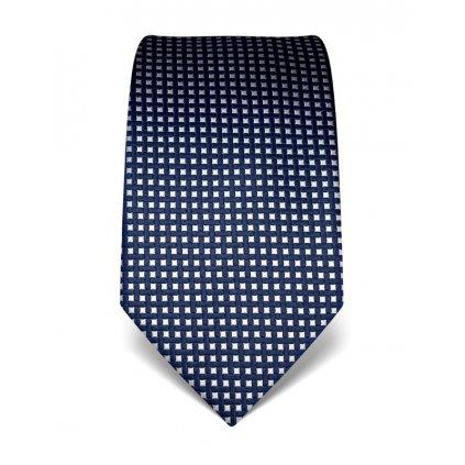 Elegantní kravata Vincenzo Boretti 21990 - modrý čtvereček