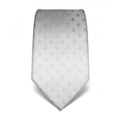 Lilie bílá kravata Vincenzo Boretti 21974