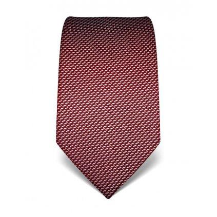 Elegantní vínová kravata Vincenzo Boretti 21930