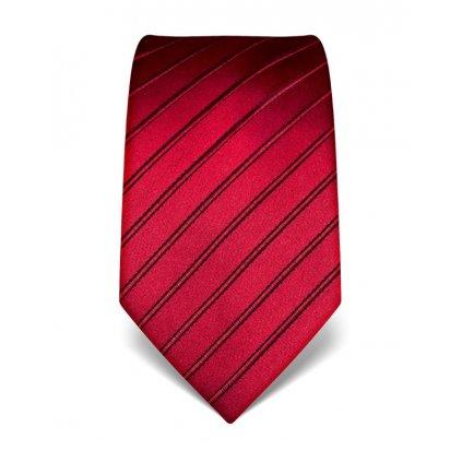 Luxusní vínová kravata Vincenzo Boretti 21965