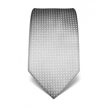Elegantní kravata Vincenzo Boretti 21990 - šedý čtvereček