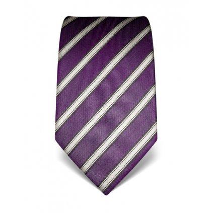 Fialová kravata Vincenzo Boretti 21944